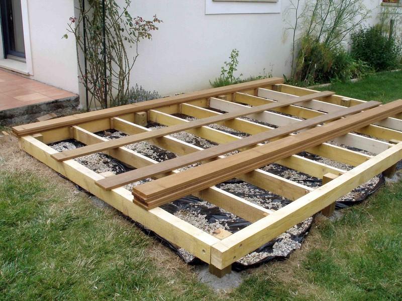 ordinaire Réaliser une terrasse en bois de 12m²